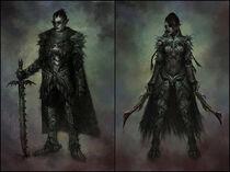 Dark Elves by yumedust