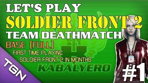 Let's Play Soldier Front 2 - Team Deathmatch Ep 1 - Base FULL TGNArmy GM5Go