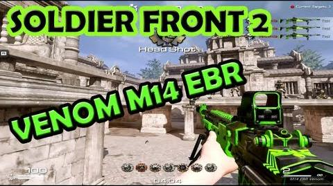 Soldier Front 2 - Venom M14 EBR - Rank Rush Event Prize!!