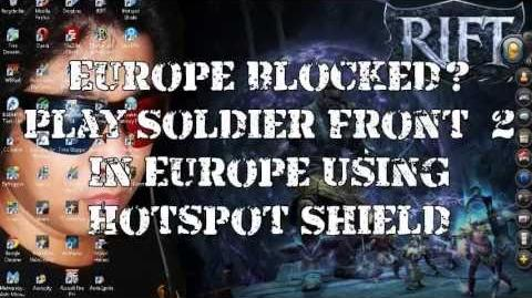Europe Blocked? Play Soldier Front 2 Using Hotspot Shield