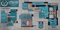 Upsilon map