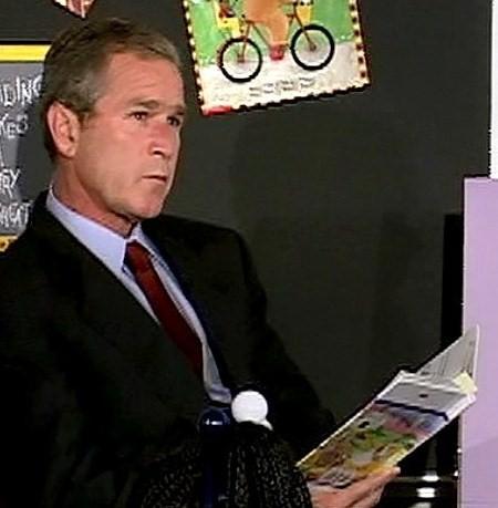 File:Bush-reading-the-pet-goat.jpg