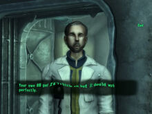 Fallout 3 disriented