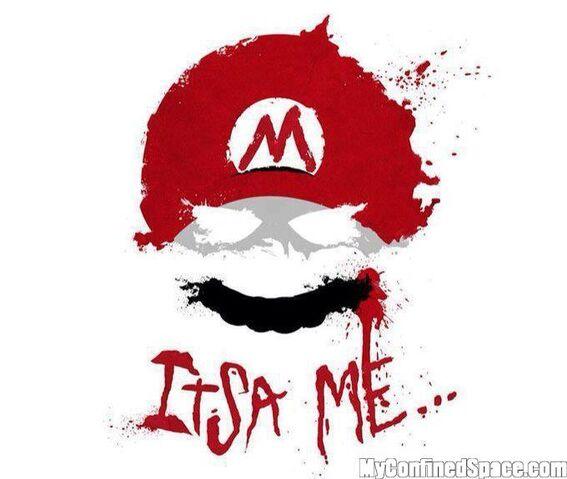 File:Creepy Mario.jpg