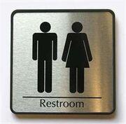 Bathrooms this way