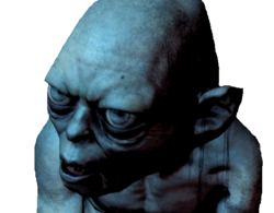 Gollum Render 2 (Middle-earth Shadow of Mordor)