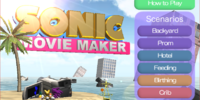 Sonic Movie Maker