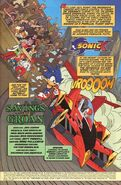 Sonic X Issue 1 page 1