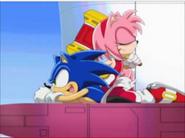 Sonic happy