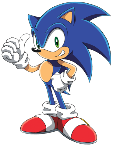 File:Sonic X – Signature Pose.png