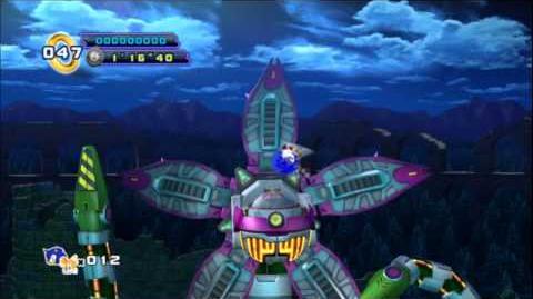Sonic 4 Episode 2 - Sylvania Castle Boss