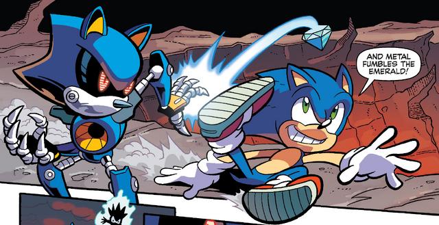 File:Sonic kicks Emerald.png