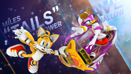 Tails and Wave (Sonic Free Riders Opening)