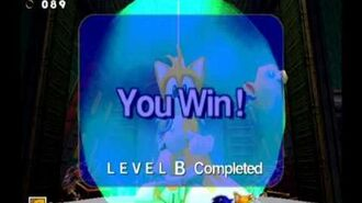 Sonic Adventure DX (GC) Tails - Casinopolis Missions Level B and A