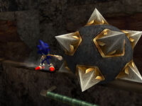 Spiked Ball Sonic and the Secret Rings