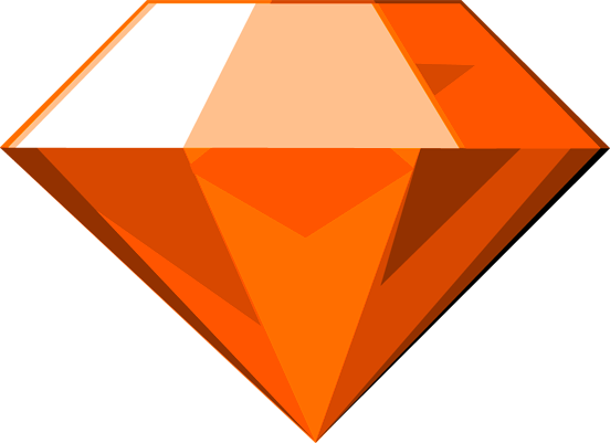 File:Chaos Emerald (Orange).png