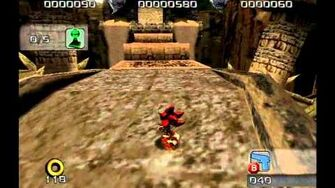 Shadow the Hedgehog (GC) Glyphic Canyon Normal Mission A Rank-0