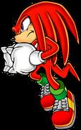 Sonic Art Assets DVD - Knuckles - 1