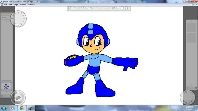 File:Mega Man By Metal.png