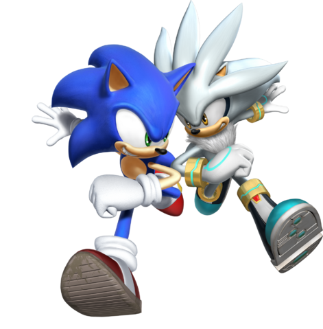 File:Sonic with silver .png