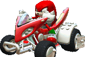 Knuckles (Sonic & SEGA All-stars Racing DS)