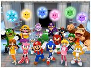Mario, Sonic & cia.