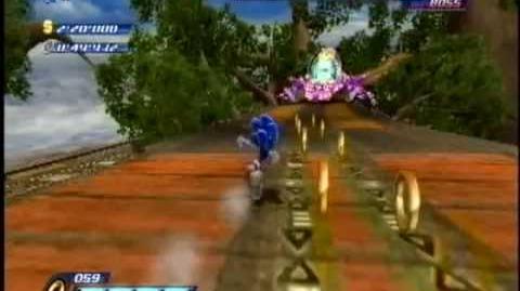 Sonic Unleashed Wii - Egg Beetle S Rank