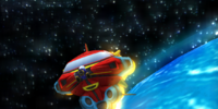 Tails' Spaceship