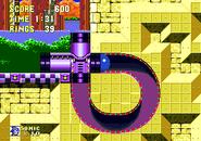 Underground launcher loop sonic 3