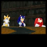 Sonic Adventure Credits (Super Sonic 25)
