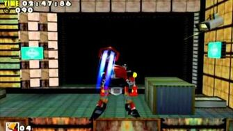 Sonic Adventure DX (GC) E-102 Final Egg Missions Level B and A