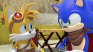 SB Tails and Sonic is Good the Team Makes