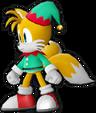 Sonic Runners Christmas Tails Model