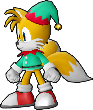 File:Sonic Runners Christmas Tails Model.png