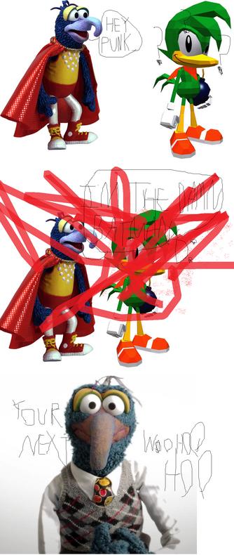Sonic vs Muppets VI