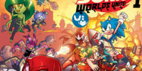 Sonic the Hedgehog: Worlds Unite Battles Issue 1