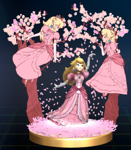 File:Peach Blossom - Brawl Trophy.png
