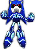 Sonic Rivals 2 - Metal Sonic costume 1