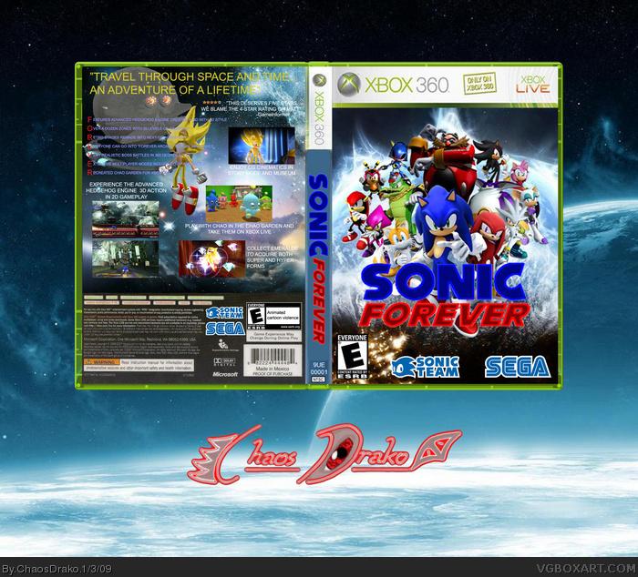 Sonic Games 1 Chaos Drako