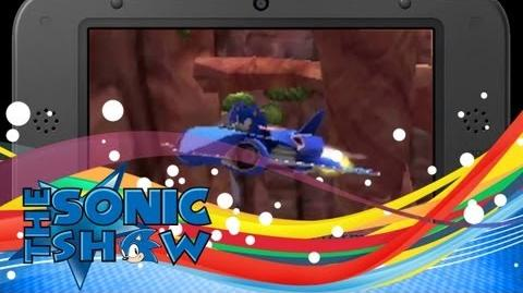 First 3DS Sonic & All Stars Transformed Footage