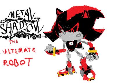 Metal Shadow The ULTIMATE Robot 272