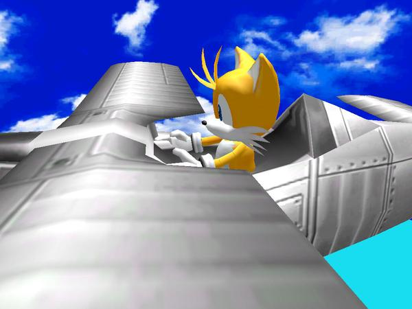 File:Tails pilot (Sonic Adventure DX).jpg