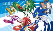 Sonic Generations 3DS artwork 24