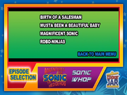 Sonic-who-episode-select-screen