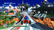 Sonic Generations Seaside Hill Cart