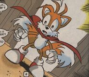Turbo Tails vs Chaos Knuckles
