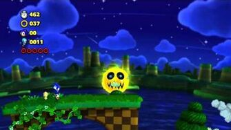 Sonic Lost World - Windy Hill Zone 2 and Zazz Boss Battle