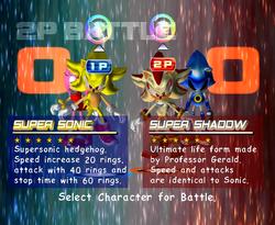 SonicAdventure2Battle SuperForms2P