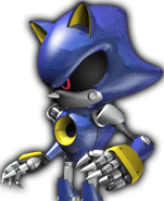 Sonic Rivals 2 - Metal Sonic