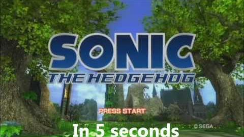 Sonic the Hedgehog (2006) in 5 seconds